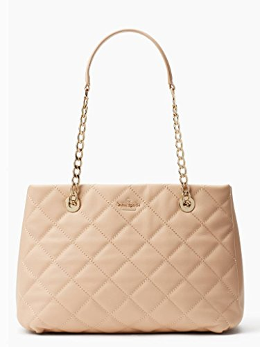Kate Spade New York Emerson Place Allis Quilted Leather Bag , Cashew