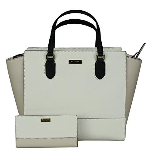 ec5326f3290f Kate Spade New York Women s Hadlee Laurel Way Tote Leather Handbag bundled  with Stacy Laurel Way. Saffiano ...