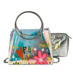 Women's Crossbody Bags,iOPQO Transparent Crossbody bag Shoulder bag+Clutch Wallet