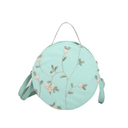 Crossbody Bags for Women,iOPQO Fashion Embroidery Tote Handbag Shoulder Bag