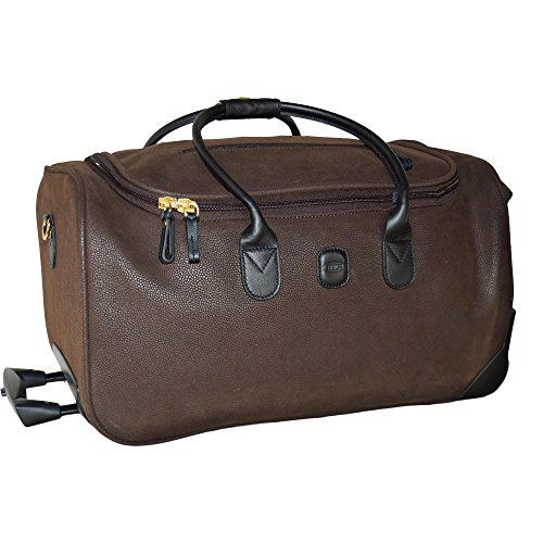 Bric's Luggage Mylife Super-Light 21 Inch Carry On Rolling Duffel