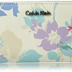 Calvin Klein Printed Saffiano Zip Around Wallet