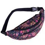 Waist bag for Women,iOPQO decorative pattern gym fitness bag chest packages