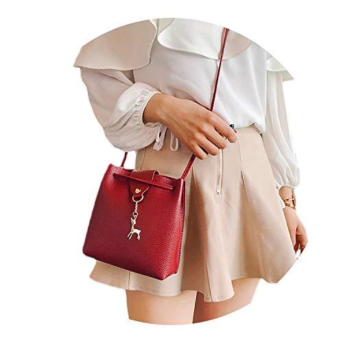 Female Messenger Bag handbags pouch Leisure Travel Fashion Bucket Shoulder Bag Evening Party package