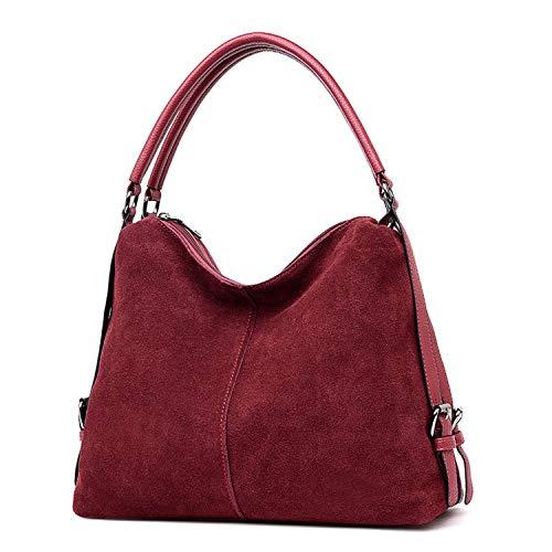 Suede Leather Handbags Women Bags Designer Tote Shoulder Bag Crossbody Bags for Women Top-Handle Bags