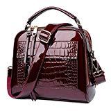 Bag Women Handbags Crocodile Leather Tote Bag Female Luxury Shoulder Bags Handbag Bolsa Feminina
