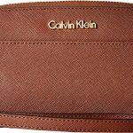 Calvin Klein Womens Saffiano Wallet w/Strap