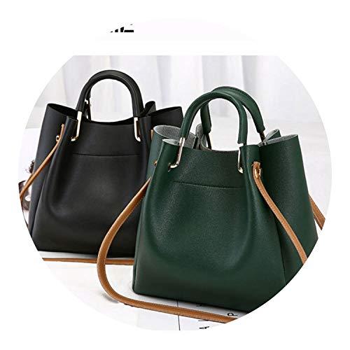 PU Leather Bags For Large Capacity Bucket Handbags Shoulder Tote s forfeminin GG