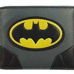 DC Comics Men's Batman Gold Logo Bi-fold Wallet