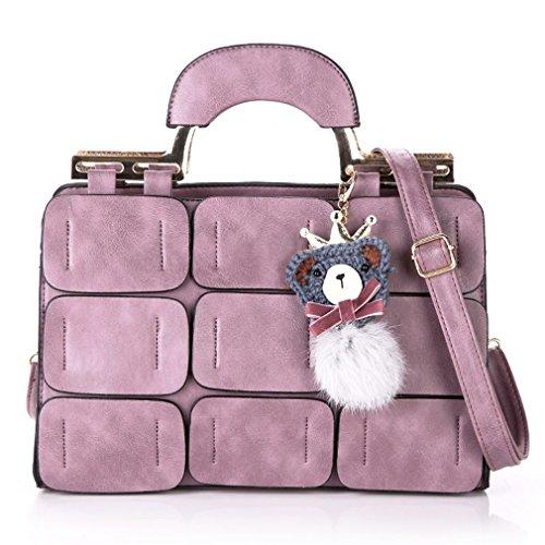UOXMDNJC Pu Leather Bags Handbags Women Bags Designer Bags Handbags Women Famous Brands Tote