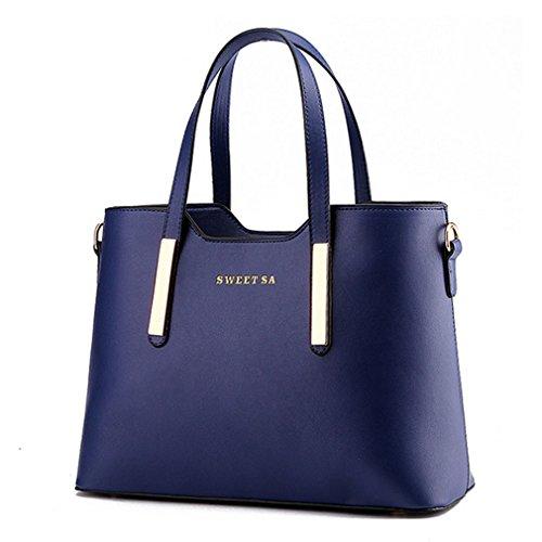 My.Monkey Lady Korean Style Fashion Leather Elegant Contracted Tote Shoulder Handbag