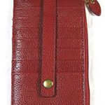 Lodis@Work Genuine Leather Credit Card Stacker Red