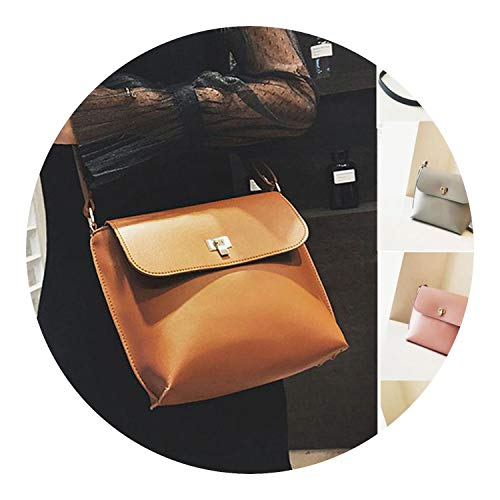 Shoulder Bag new Girls Fashion Pure color Leather Crossbody Messenger Bucket shoulder bag women AP7