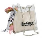 Crossbody Bag, Dream Room Women Fashion Transparent Casual Shopping Shoulder Bag