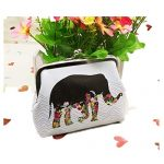Birdfly Womens Elephant Wallet Card Holder Coin Purse Clutch Handbag Cheap Clearance