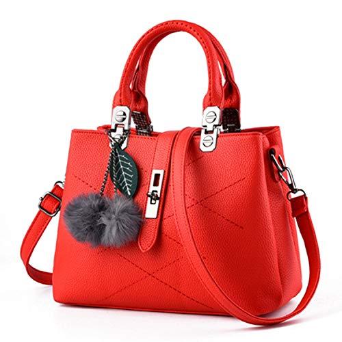 2018 NEW Fashion Woman Bag Fashion Casual bag Metal Tote Leather Bag Lady Handbags Shoulder Bag