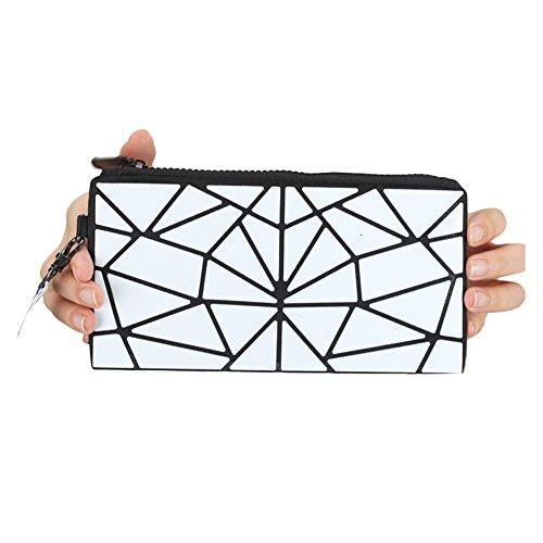 Smibra Women's Stylish Large Capacity PU Leather with Card Holder Purse 7 Inches 039