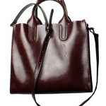 Heshe Women Leather Tote Designer Handbags Ladies Purse Tote Bag Top Handle Bags Shoulder Handbag Cross Body Bag Satchel Purses (Wine)