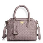 Angelkiss Women's Soft Leather Handbags Satchels Shoulder Bags Casual Purses Top-handle Bag for Women or Girl (Pink)