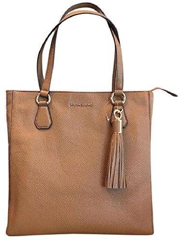 Michael Kors 35S7GBFT2L Bedford Acorn Pebbled Leather Zip Tote Handbag