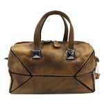 Heshe Vintage Women's Leather Handbags Shoulder Bags Totes Purses Ladies Designer Cross Body Bag (Brown)