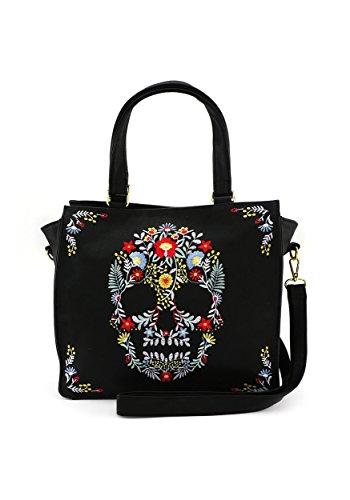 Dia De Los Muertos Faux Leather Handbag Standard
