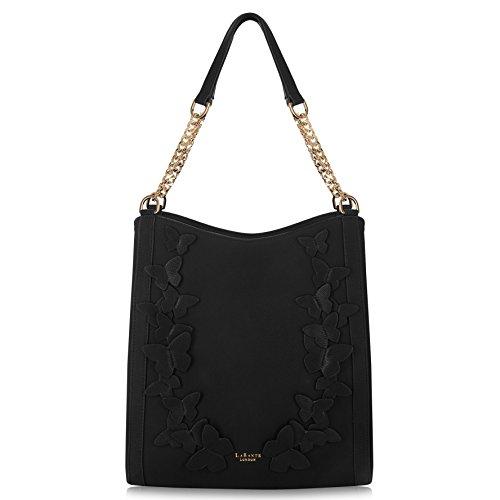 LaBante London 'Sylvaine' Vegan Leather Hobo Handbag for Women
