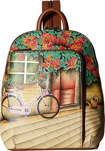 Anuschka Sling-Over Travel Backpack (Vintage Bike)
