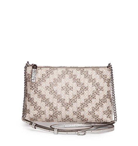 Eric Javits Luxury Fashion Designer Women's Handbag - Pochette (Taupe Glow)