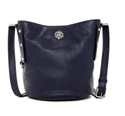 Marc By Marc Jacobs M0007255-484 C-Lock Bucket Ink Blue Crossbody Women's Handbag (Ink Blue)