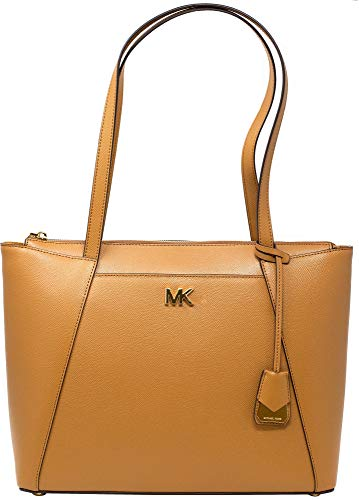 Michael Kors Maddie Ladies Medium Crossgrain Leather Tote Handbag 30S8GN2T2L532
