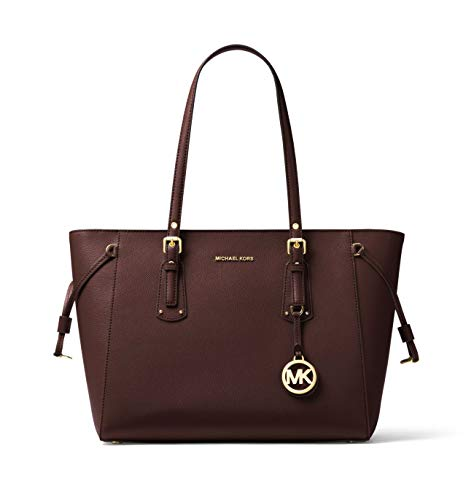 MICHAEL Michael Kors Voyager Medium Multifunction Top-Zip Tote (Barolo)