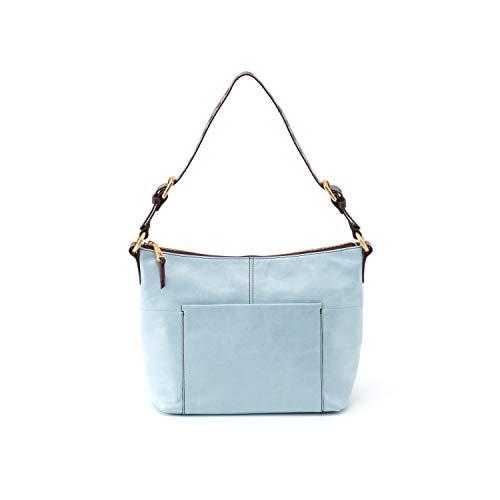 Hobo Women's Charlie Vintage Leather Shoulder Bag (Whisper Blue)