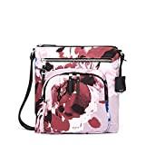 TUMI - Voyageur Carmel Crossbody Bag - Over Shoulder Satchel for Women - Blush Floral